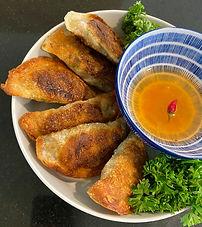 Indonesian mutton martabak (Martabak Mesir)