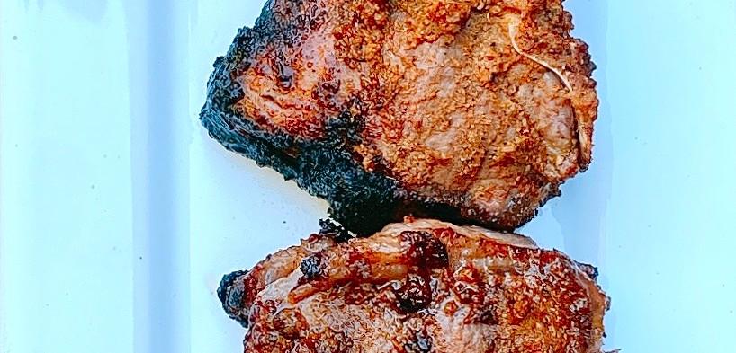 Moorish grilled lamb