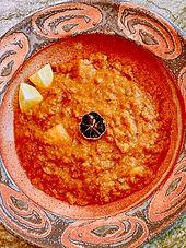 Omani-spiced red lentils or Marak dal