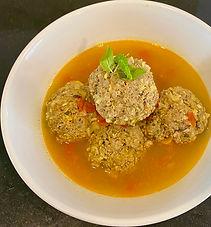 Tabriz meatball soup