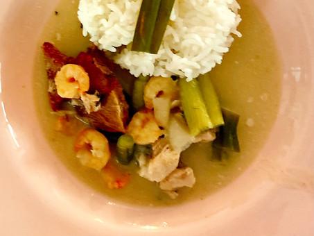 Simple Thai seafood curry