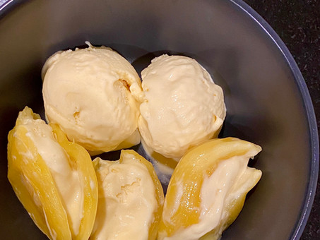 Jackfruit ice cream