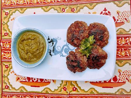 Kashmiri seekh kebabs