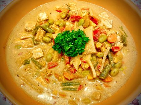 Massaman curry - Vegetarian version
