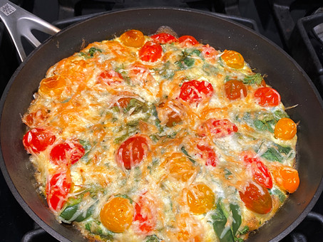 Mexican-style frittatas