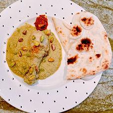 Chicken pista korma - Indian curry series 5