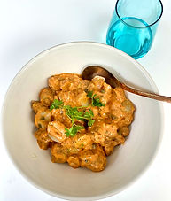 Harissa-potato salad
