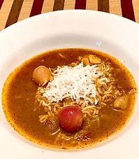 Curry leaf curry (Karuvepilai kuzhambu)
