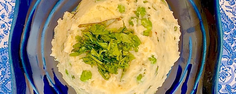 Indian-style mashed potatoes