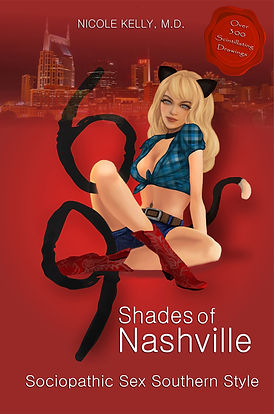 69 Shades of Nashville Front Cover 6.69x