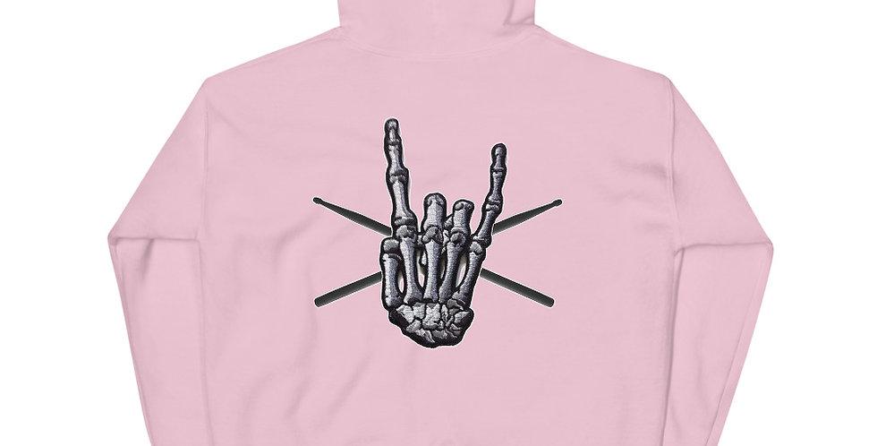 BIG ROCK HAND - FRONT & BACK - Unisex Hoodie