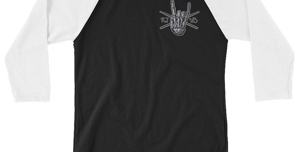 RJWS Rock Hand - 3/4 Sleeve Shirt