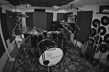 Remote Drum Recordings - Studio Picture