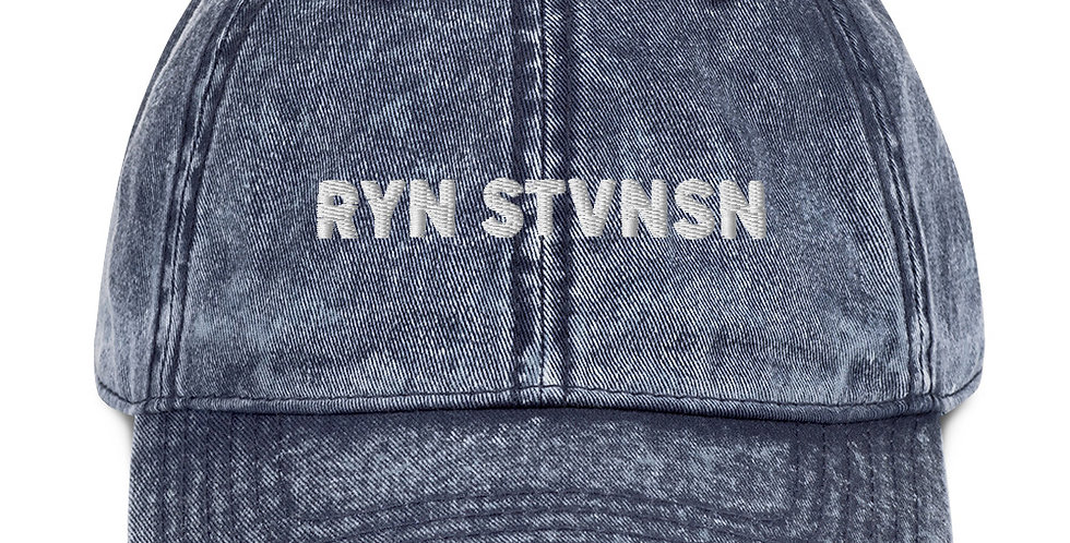 "RYN STVNSN - Vintage ""Dad"" Cap"