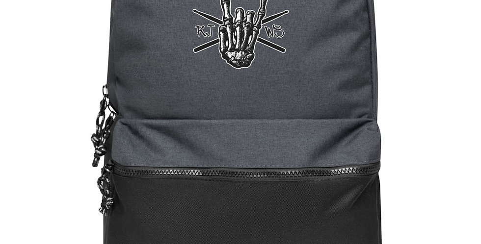 RJWS Rock Hand - Embroidered Champion Backpack