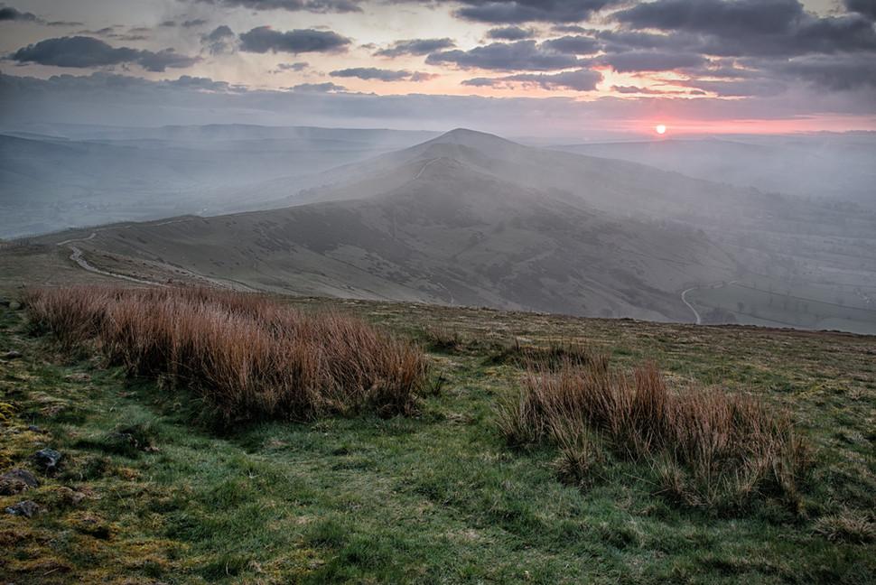 Rolling Mist on The Great Ridge
