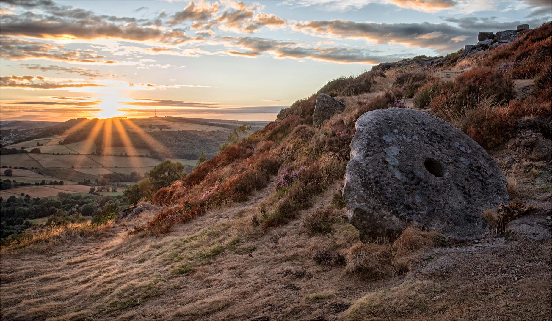 Millstone Sunset