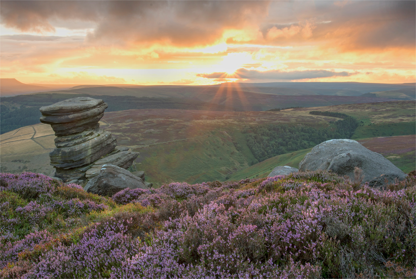 Sunset from the Derwent Edge