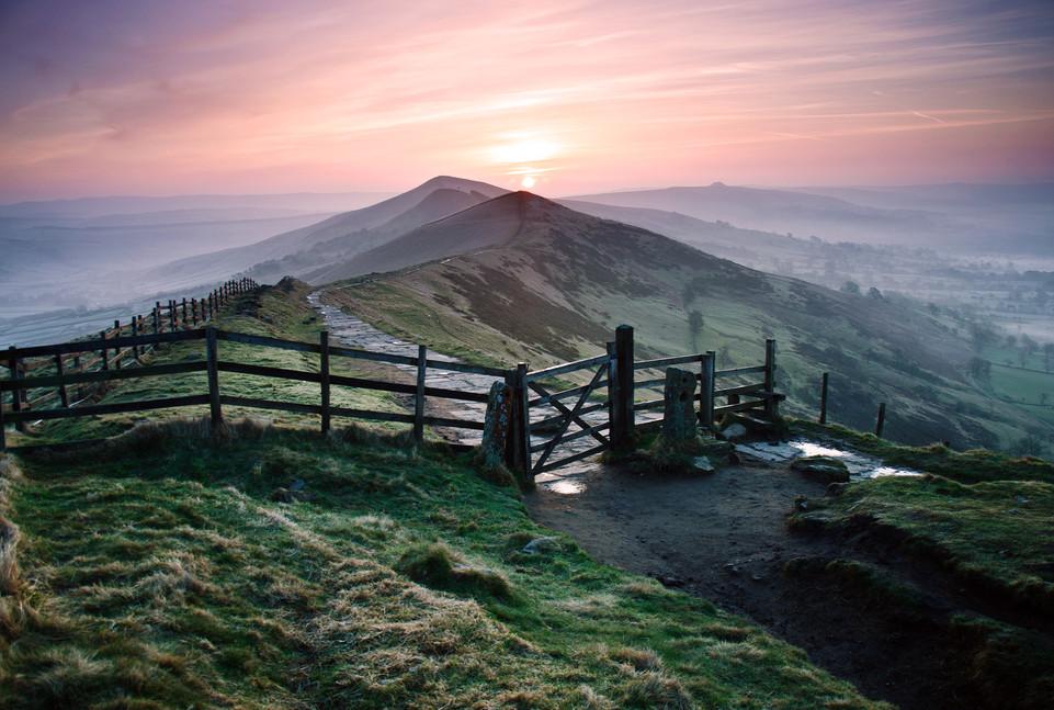 Sunrise on the Great Ridge