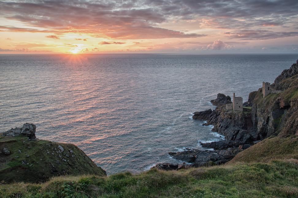 Cornish Coast Sunset