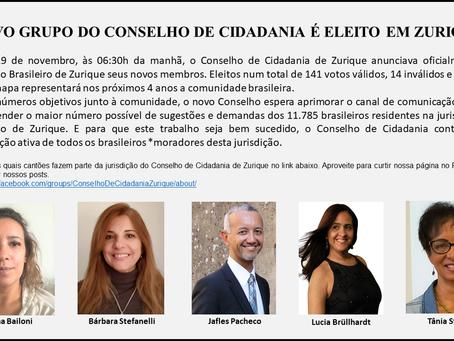 CONHEÇA OS NOVOS MEMBROS DO CONSELHO DE CIDADANIA DE ZURIQUE