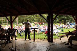 Outdoor Service and Baptisms