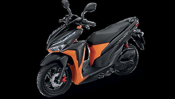 Click-i 150cc 2019 2 สี ดำ-ส้ม ขาว-ส้ม
