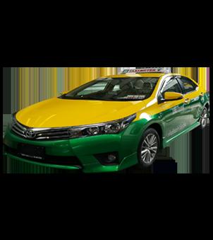 Taxi Altis 1.8Esport ผ่อน48งวด