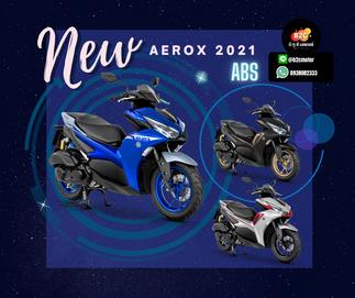 โปรโมชั่น!!! ผ่อนรถมอเตอร์ไซค์ ยามาฮ่า แอร็อกซ์ Aerox [2020] ตัวใหม่ล่าสุด S, R, ตัวท็อป ABS