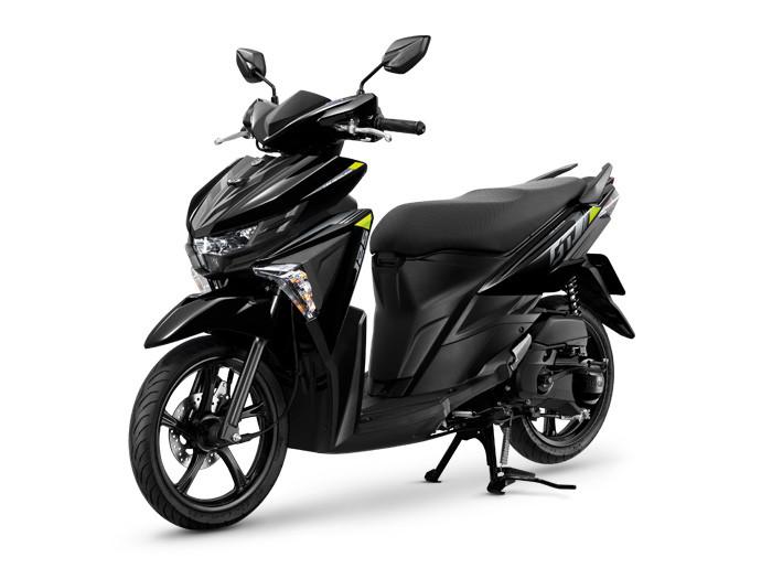 GT125 2020 รุ่น Standard สีดำ