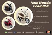 Honda Lead 125 รถรุ่นใหม่ล่าสุด โดดเด่นด้วยดีไซน์ใหม่ ช่องเก็บหมวกได้ 2 ใบ พร้อมช่องชาร์ทมือถือ
