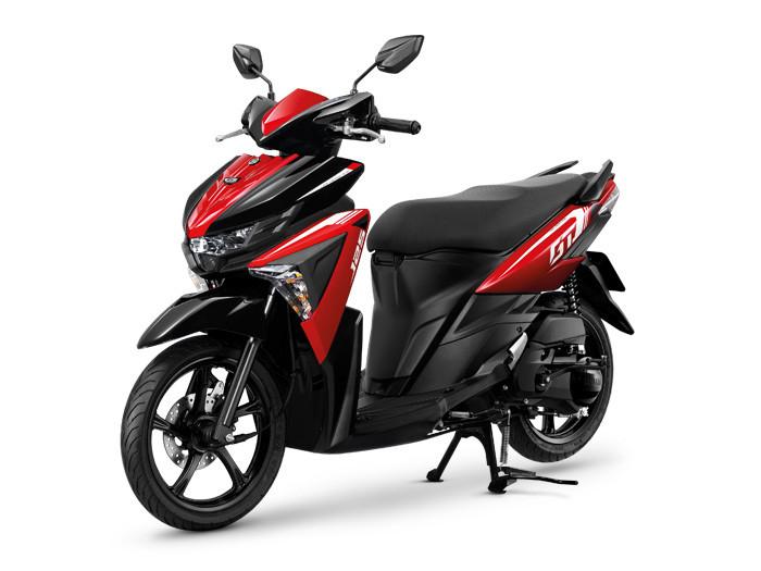 GT125 2020 Standard สีแดงดำ