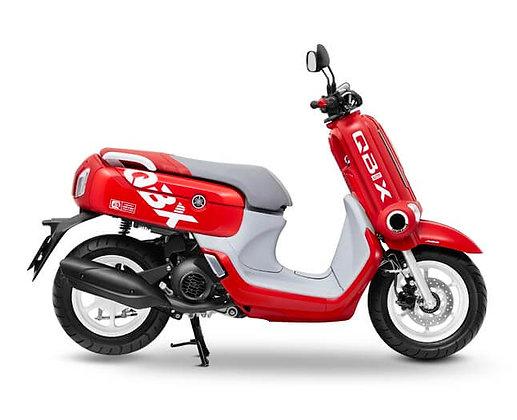 ํYamaha qbix 2019 ABS สีขาวแดง
