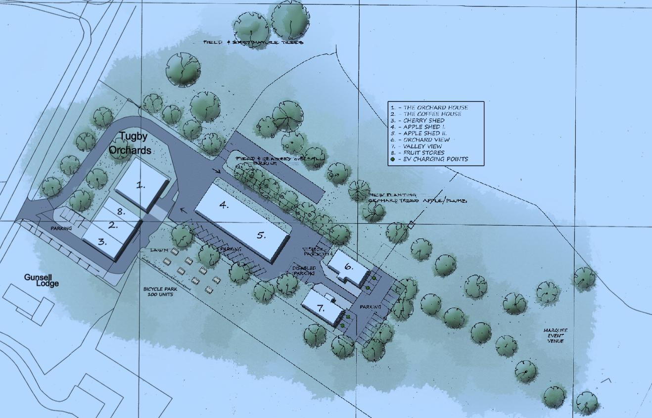 Business Centre Plan