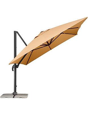 bahçe şemsiyesi modelleri, yandan gövdeli bahçe şemsiyesi