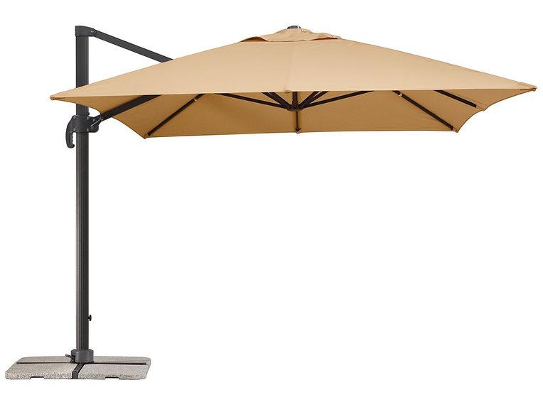 yandan gövdeli şemsiye, yandan gövdeli bahçe şemsiyesi