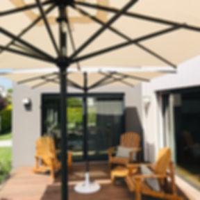 aluminyum güneş şemsiyesi, dayanıklı güneş şemsiyesi, ica şemsiye, ica bahçe mobilyası