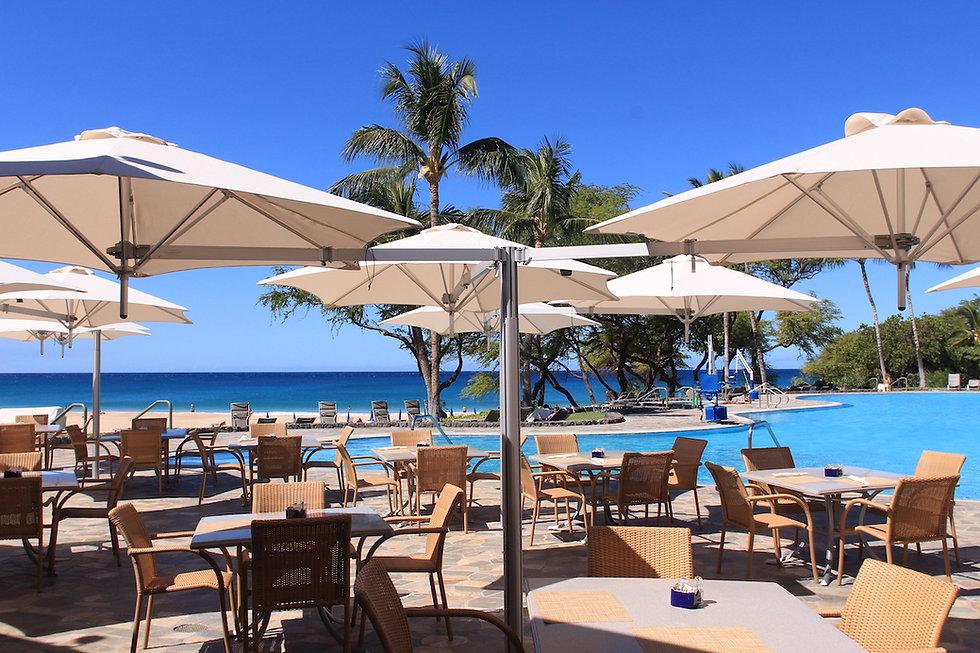 Paraflex parasol Hapuna Kea Resort 2 HR.