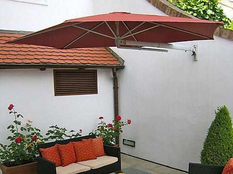 duvara monte şemsiye, duvara asılan şemsiye, duvara takılan şemsiye