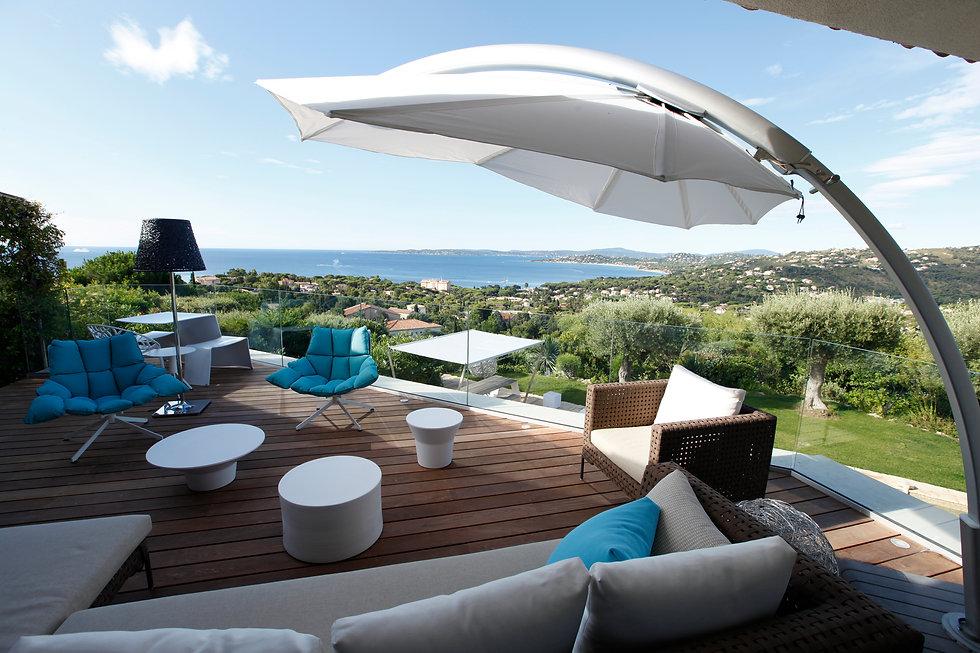 tasarım teras şemsiyeleri, umbrosa şemsiye