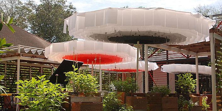 dekoratif teras şemsiyeleri, dekoratif cafe şemsiyeleri