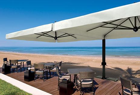 büyük cafe şemsiyeleri, 6 metre, 7 metre şemsiye
