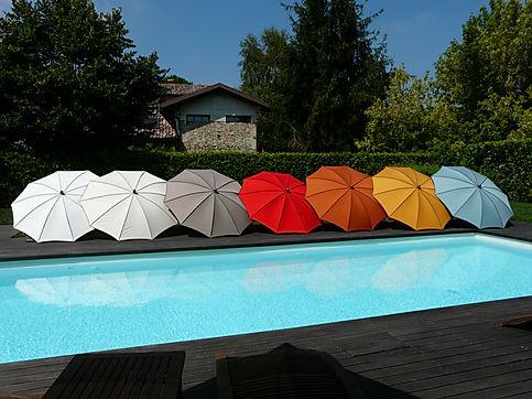 güneş şemsiyesi, güneş şemsiyeleri