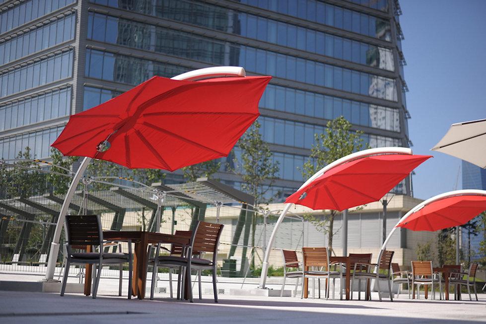 tasarım bahçe şemsiyeleri, umbrosa şemsiye