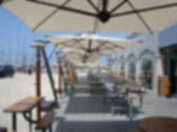 restaurant şemsiyeleri, restoran şemsiyeleri