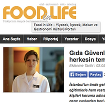 Food in Life, İpek Ege