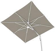 yandan bumlu şemsiye, yandan mafsallı şemsiye