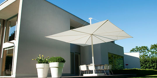 lüks bahçe şemsiyeleri, lüks teras şemsiyeleri