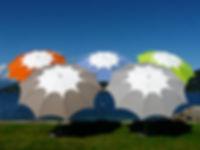 lüks bahçe şemsiyeleri, dekoratif bahçe şemsiyeleri