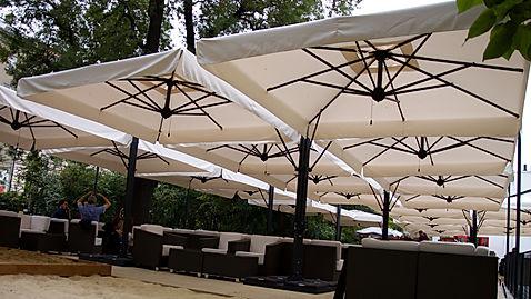 büyük güneş şemsiyeleri, büyük teras şemsiyeleri